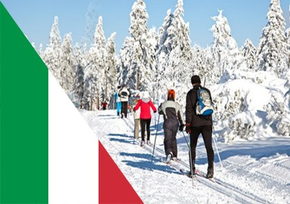 Wintersport Italië