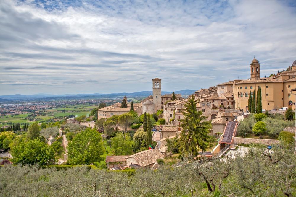 Citaten Franciscus Van Assisi : Assisi stad van franciscus