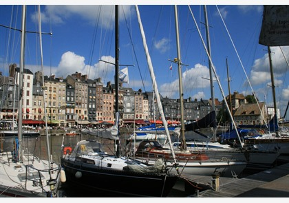 Honfleur: charmant havenstadje in Normandië