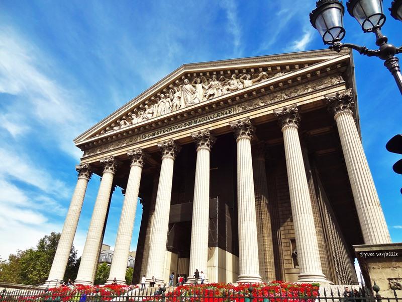La Madeleine  Griekse Tempel In Het Hart Van Parijs