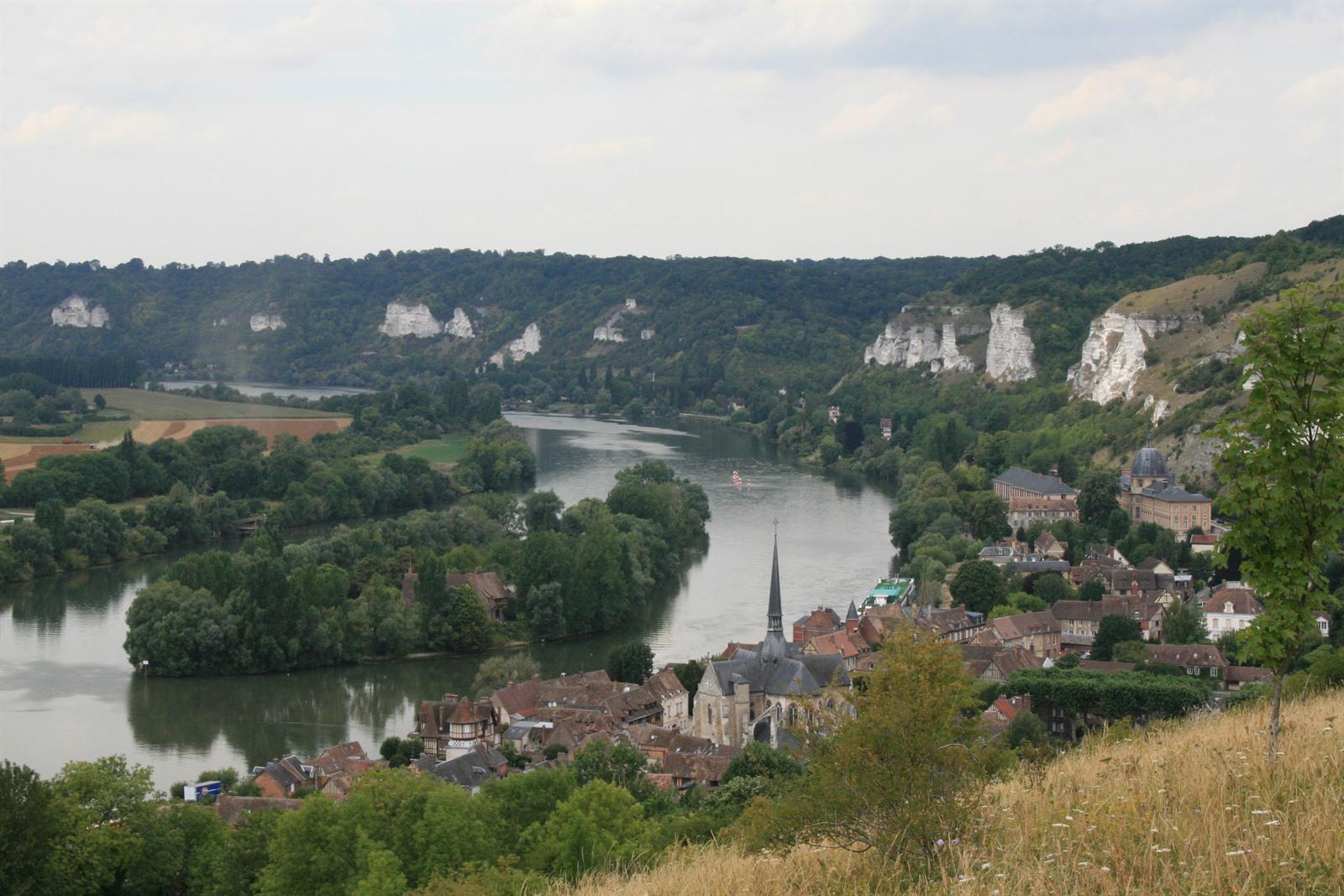 Les Andelys Mooi Aan De Seine