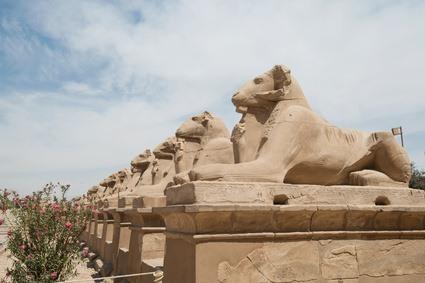 Egypte Luxor Bezoek Tempels Luxor En Karnak