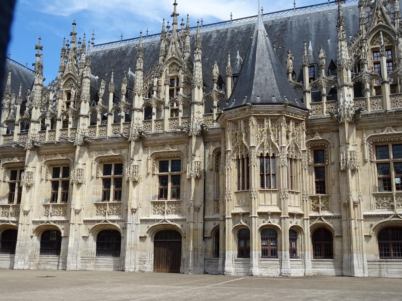 Rouen bezoeken de stad van jeanne d 39 arc en rue de l 39 horloge - Verblijf kathedraal ...