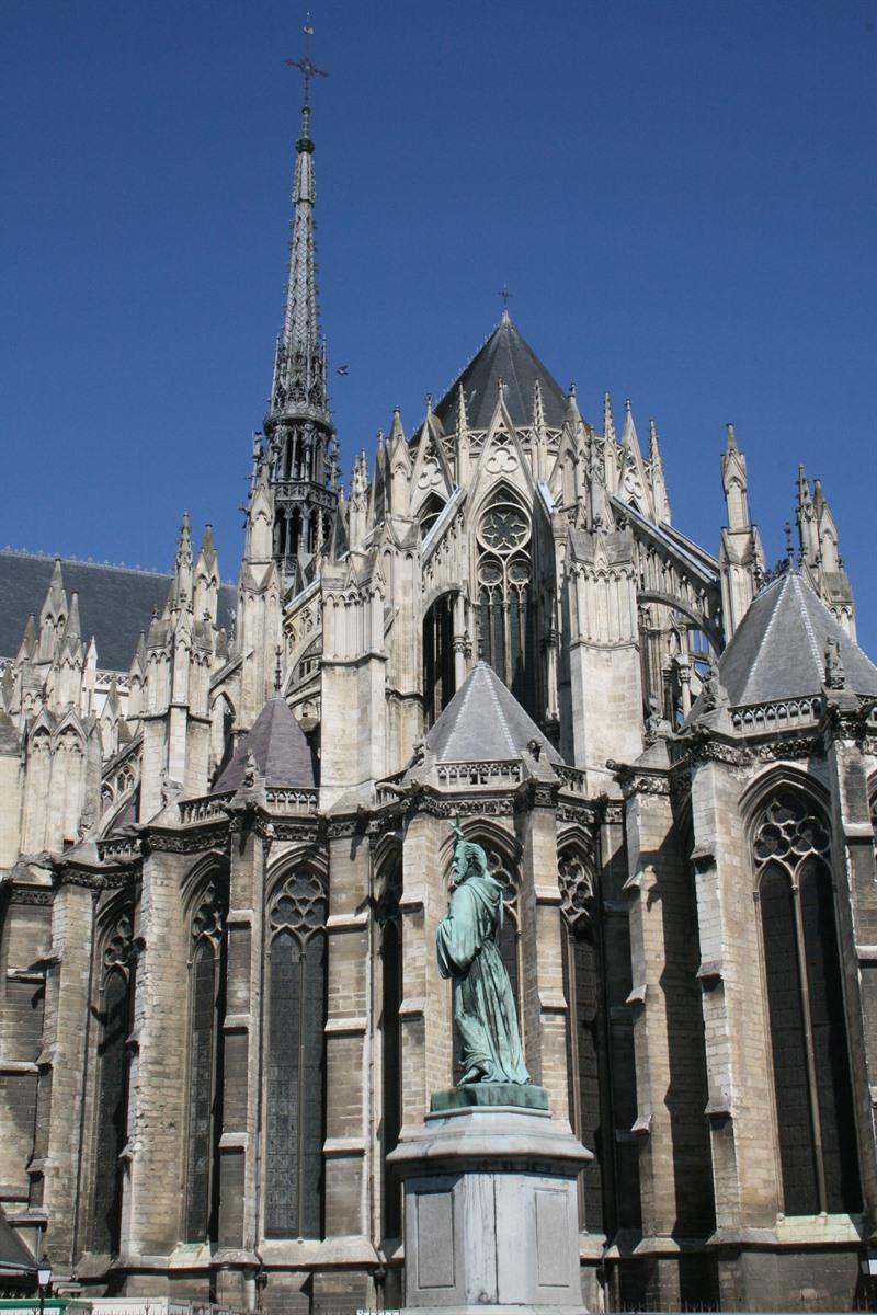 Stadswandeling langs bezienswaardigheden amiens picardi - Verblijf kathedraal ...