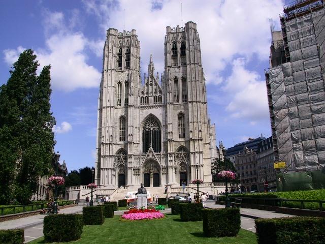Brussel stadswandeling centrum - Verblijf kathedraal ...