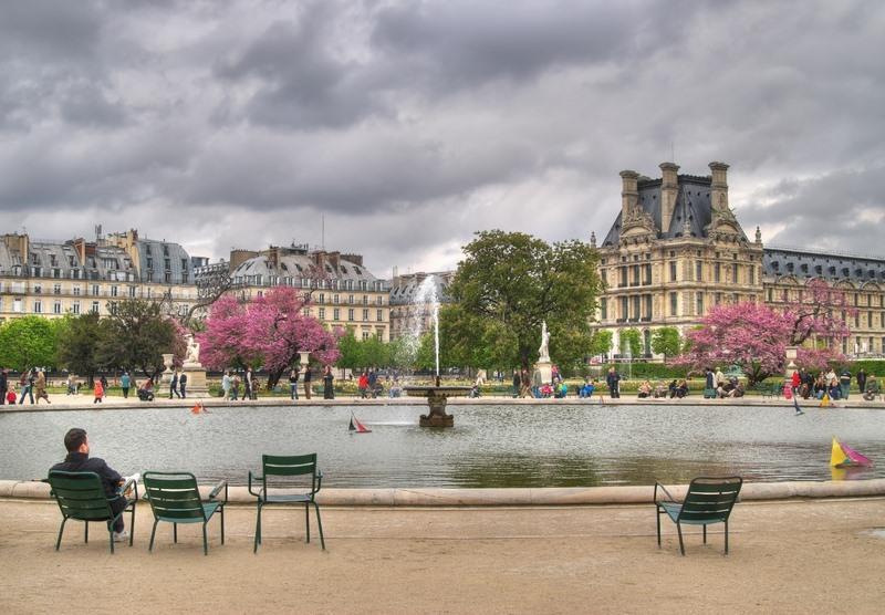 Jardin des tuileries koninklijke tuinen worden openbaar park - Jardin des tuileries restaurant ...