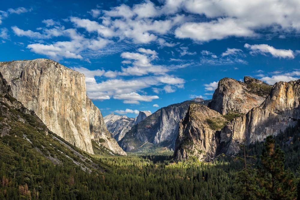Yosemite National Park Bezoeken Alle Info Trails En