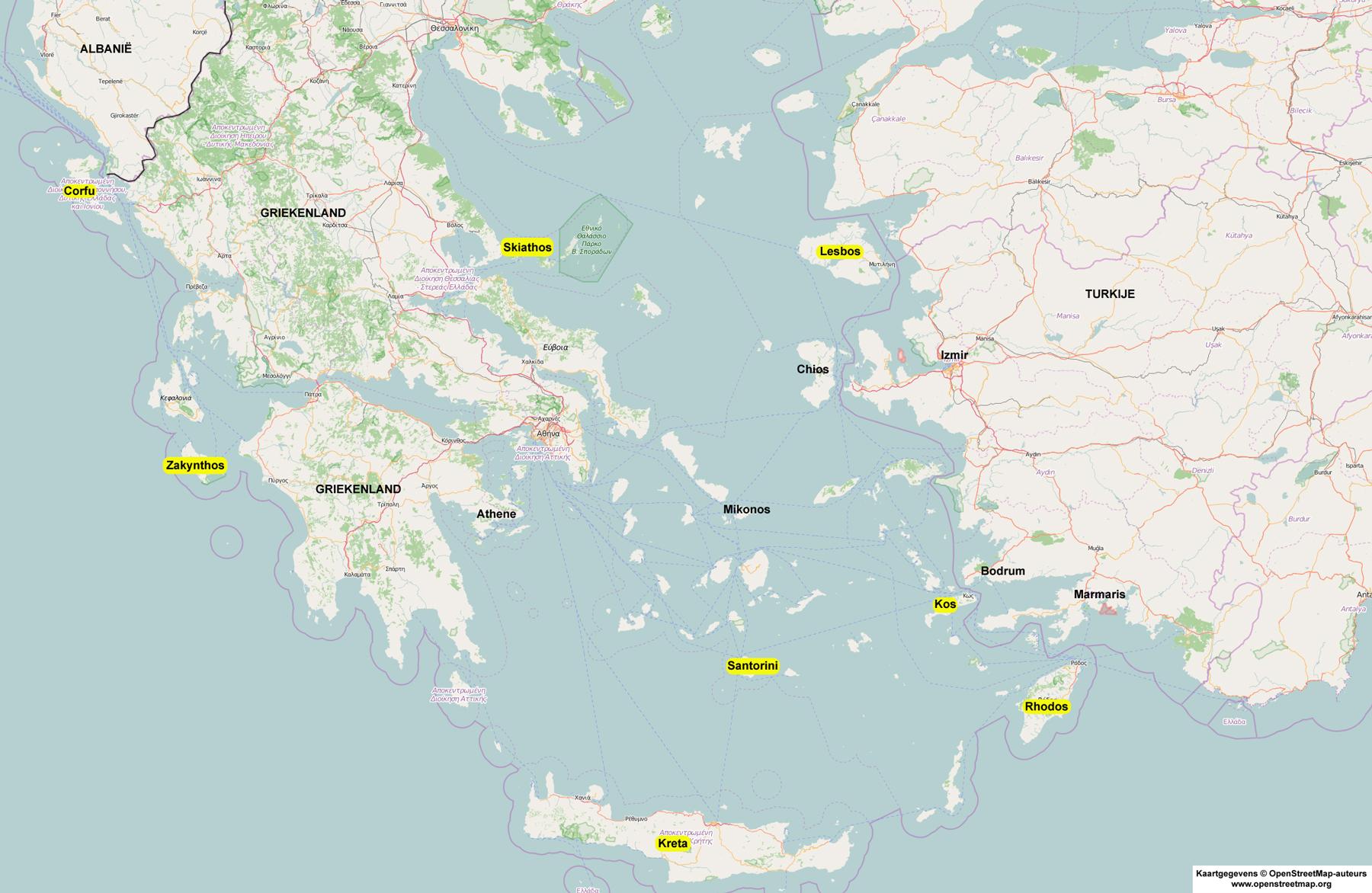 Vakantie Griekse Eilanden Welk Eiland Kiezen
