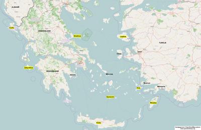 Vakantie griekse eilanden welk eiland kiezen for Welk behang kiezen